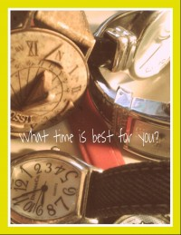 time best for you.